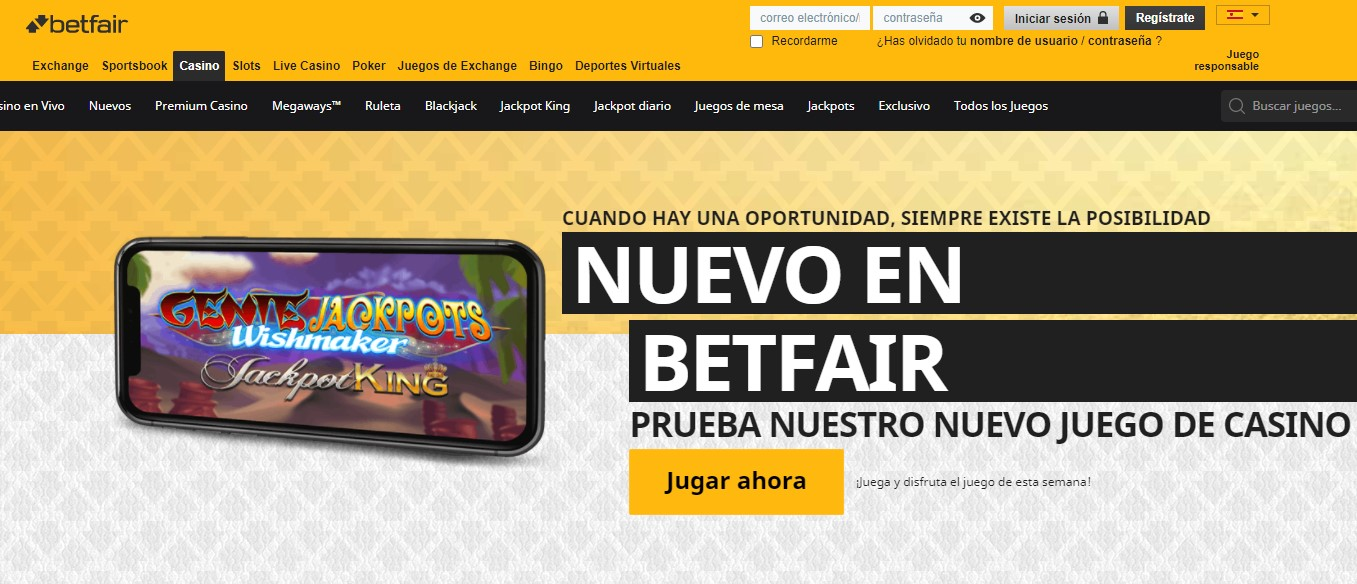 Betfair Casino Top 10 Casinos low wagering requirements