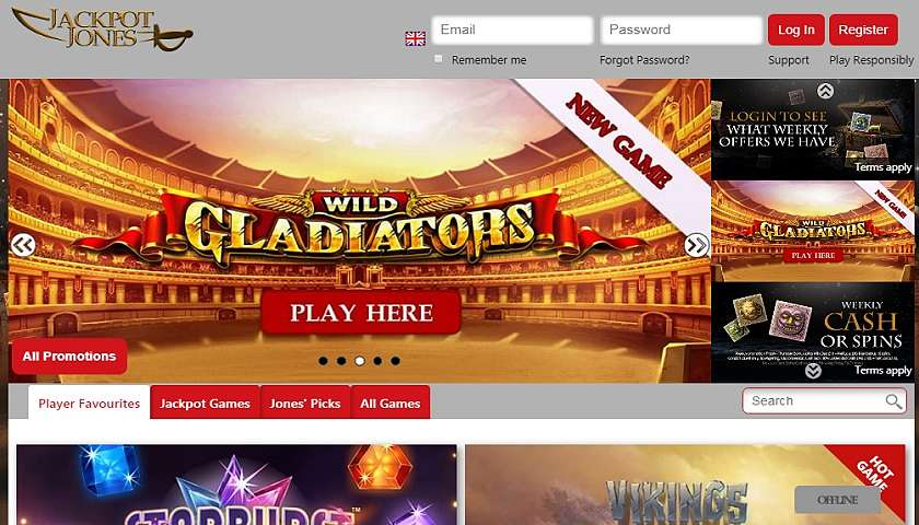Jackpot Jones Casino Top 10 Low Wagering requirements