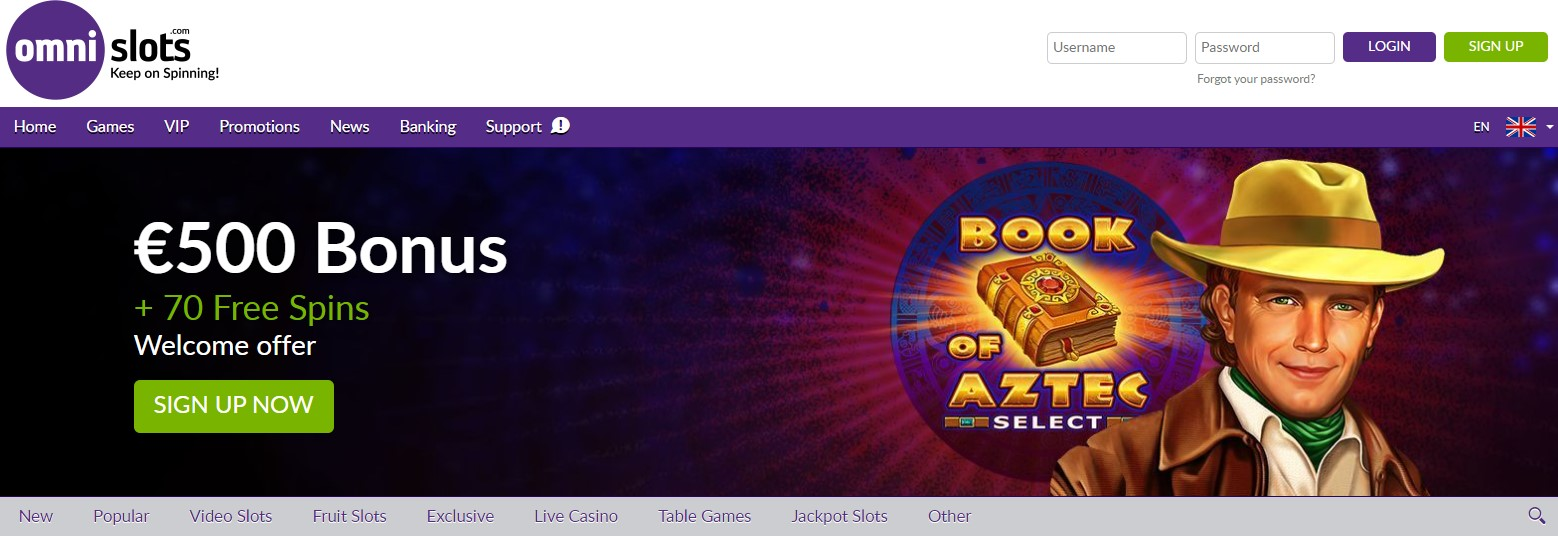 Omni Slots Best Casinos that offer demo mode