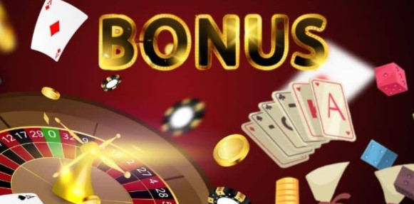 Casino instruments with the word bonus