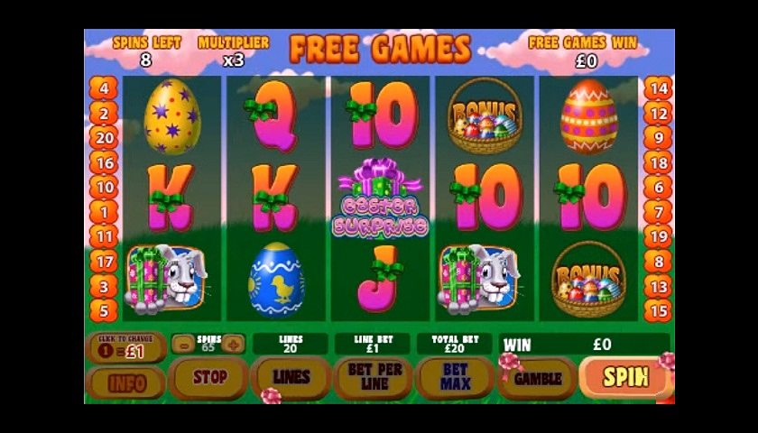 Easter Surprise Slot Game