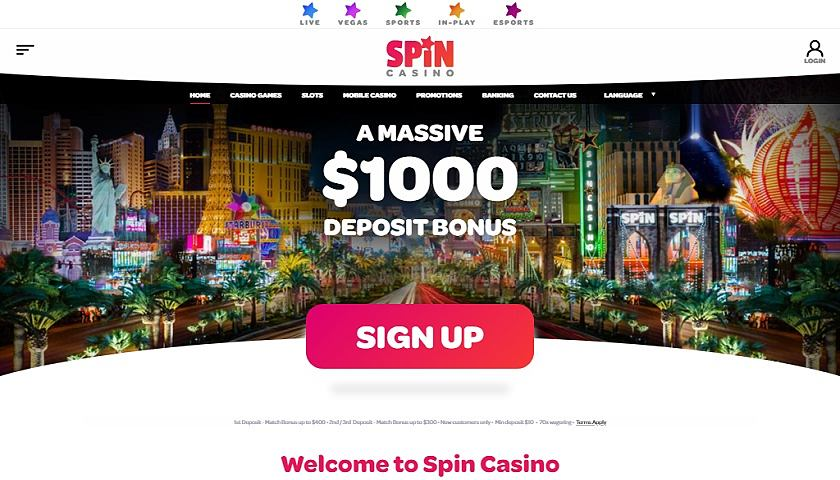 Spin Casino for 5 de Mayo
