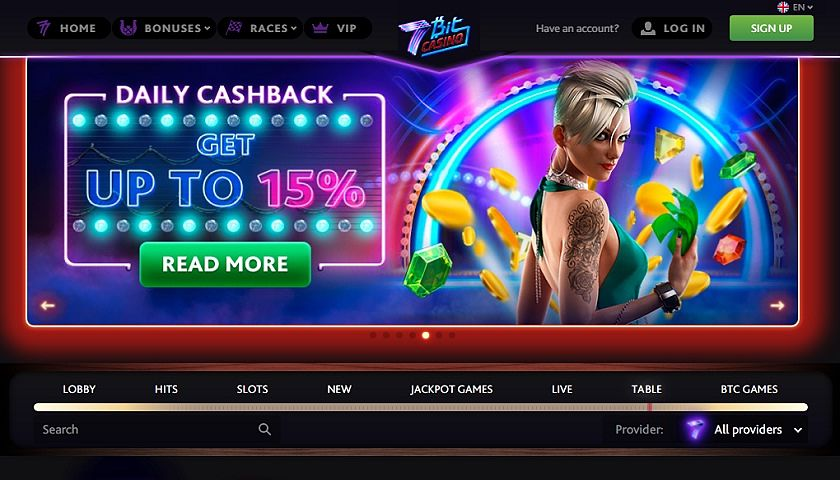 7BitCasino offers tons of bonuses and promotions that you must take advantage of