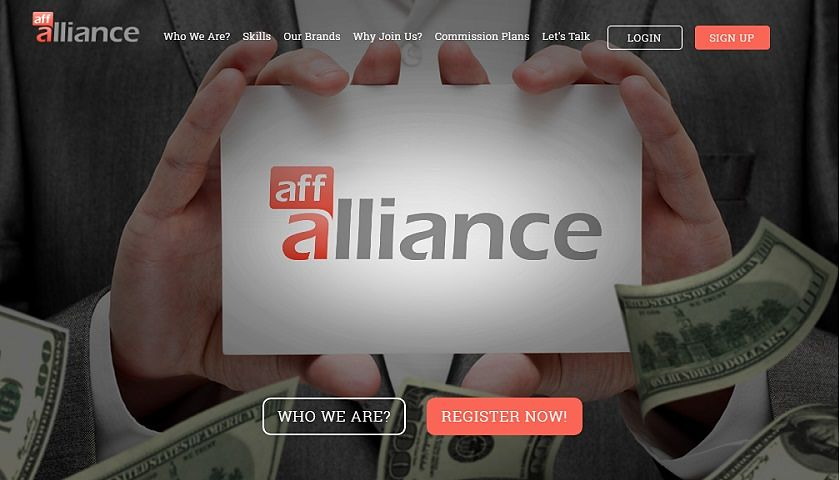 AffAlliance screenshot