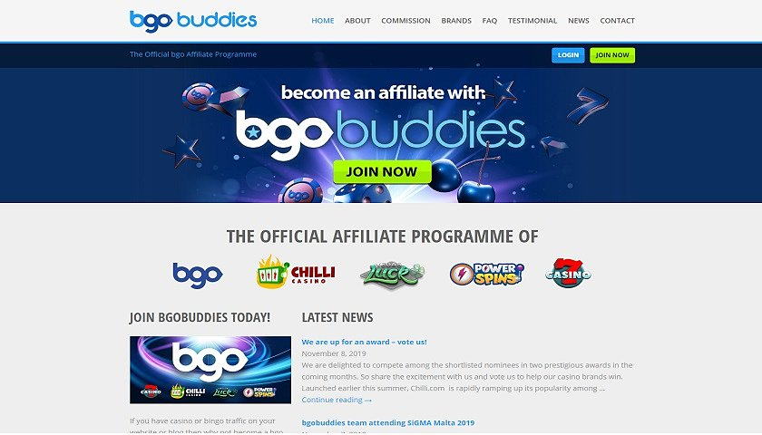 BGO Buddies screenshot