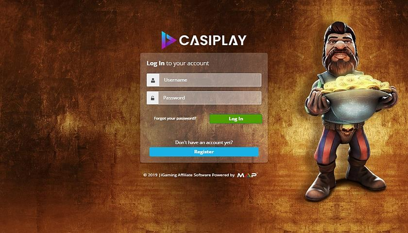 Casiplay Affiliates captura de pantalla