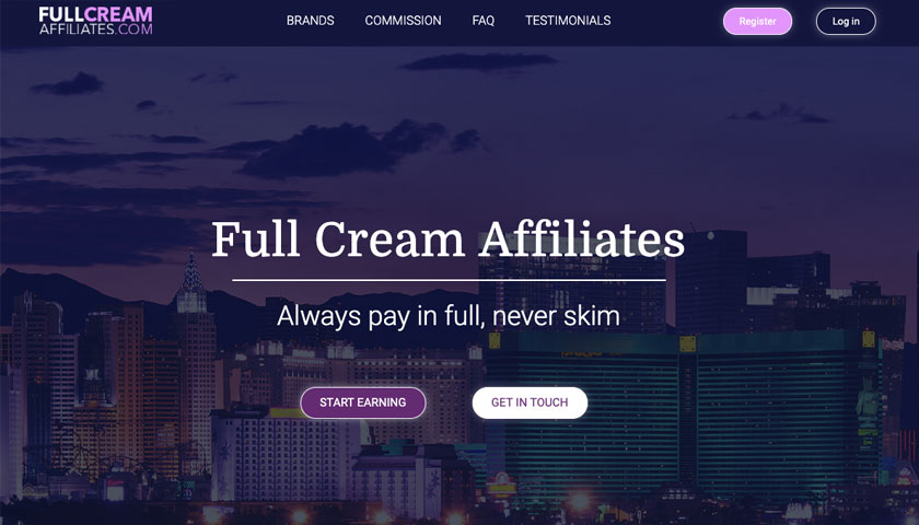 Full Cream Affiliates screenshot