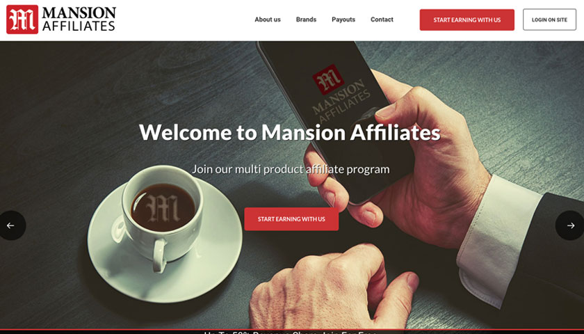 Mansion Affiliates screenshot