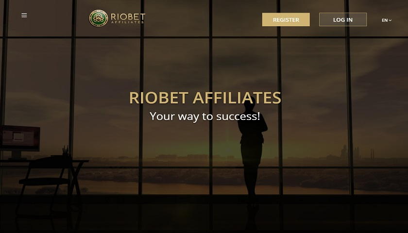 RioBet Affiliates screenshot
