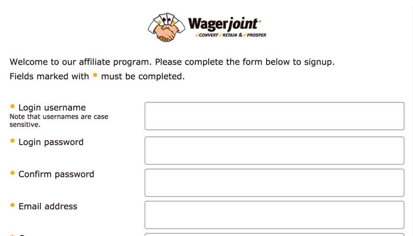 WagerJoint backend