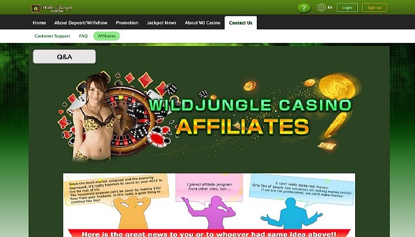 Wild-Jungle-Casino-Affiliate captura de pantalla