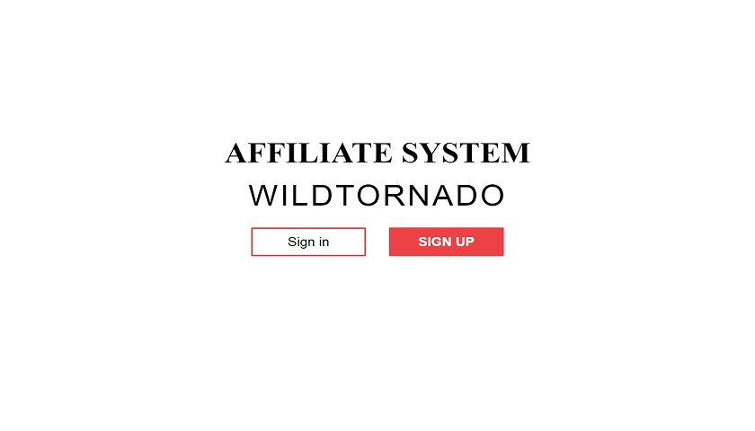 Wild Tornado Affiliates screenshot