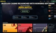 Buzzluck Casino Relaunched with NuWorks Software