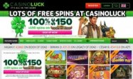 Casinoluck offering 100 free spins and more on Book of Dead