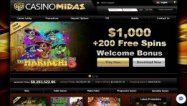 Casino Midas screenshot