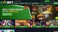 Evobet Casino screenshot