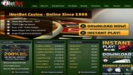 iNetBet Casino casino desktop screenshot