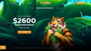 Lucky Tiger Casino screenshot