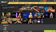 MELbet Casino screenshot
