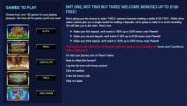 Planet Casino signup
