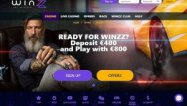 Winzz Casino screenshot