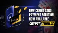 You can now buy cryptos with your credit card at Crypto Thrills Online Casino