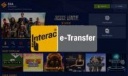 Sports Interaction casino Interac payment Canada