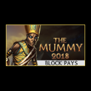 The Mummy 2018 – Block Pays logo