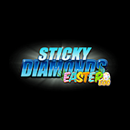 Sticky Diamonds Easter Egg logo