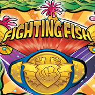 Fighting fish logo