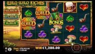 Wild Wild Riches Luck of the Irish Slot Screenshot