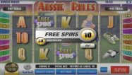 Aussie Rules Slot Paytable